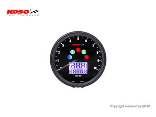 KOSO Neo Retro Multi-Function Meter 64mm TNT Black
