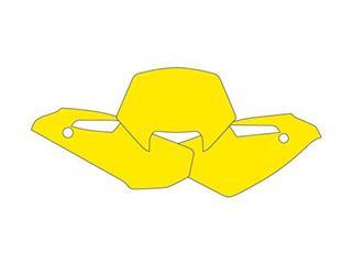 Fonds de plaque BLACKBIRD jaune Husqvarna WR125/WRE125