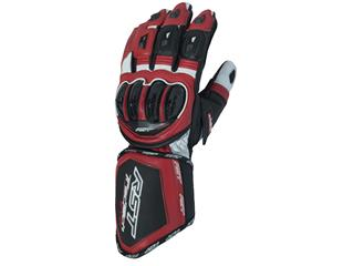 RST Tractech Evo CE Gloves Leather Red Size L/10 Men