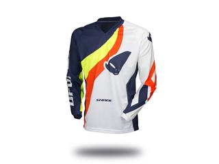 Maillot UFO Shade bleu/blanc/jaune/rouge taille L