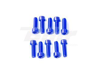 Kit tornillos allen cabeza cilíndrica Pro-Bolt M6 x 20mm (10 pack) Aluminio azul LPB620-10B