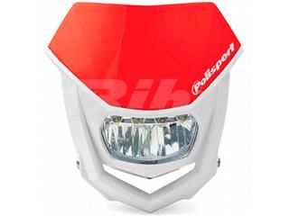 Porta-farol Halo LED homologado Polisport branco/vermelho 8667100006 - 4ca31fb3-c50c-4c0d-8949-cacbebaf0920
