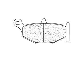 Plaquettes de frein CL BRAKES 1163RX3 métal fritté