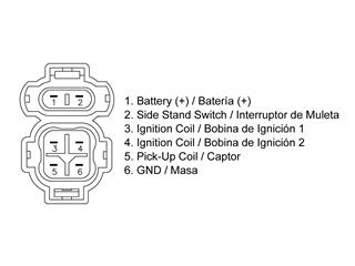Boitier CDI TECNIUM Honda XLV600 Transalp - 14544
