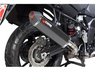 Silencieux SCORPION Serket Parallel carbone/casquette ABS noir Suzuki V-Strom 1000 - 4ccad01f-e167-4123-837f-557d371f767d