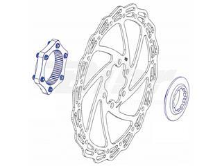 Conversor disco universal a center lock con arandela de cierre color negro - 4cf0f5a0-7d8b-4bc3-aa36-df1373f0c31b