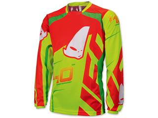 UFO 40th Anniversary Jersey Red/Yellow/Neon Green Size XXL