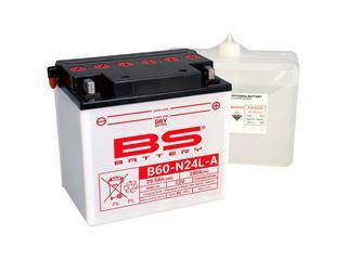 Batterie BS BATTERY B60-N24L-A conventionnelle livrée avec pack acide - 321036