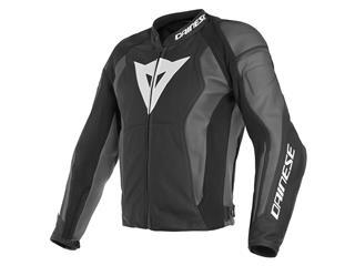 Leather Jacket Dainese Nexus Black/Ebony Sz 60