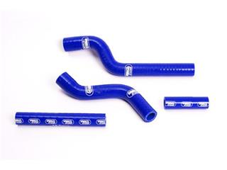 Durites de radiateur SAMCO type origine bleu - 4 durites Yamaha YZ250F - 44064344
