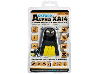 Bloque disque alarme OXFORD Alpha XA14 Ø14mm jaune - 4da4a6a8-6a7b-4d1a-97f6-2a8d22820d72