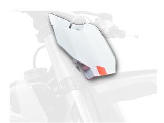 Plaque numéro frontale POLISPORT blanc KTM SX85 - 785963WH