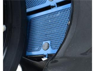 Olieradiateurbescherming R&G RACING blauw BMW S1000RR