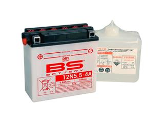 BS BATTERY 12N5.5-4A Battery Conventional with Acid Pack