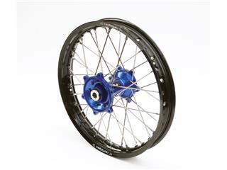 ART Compleet Achterwiel 18x2,15x36T Zwart Velg/Blauw Naaf/Zilver Spaaken/Zilver Spaakennippel