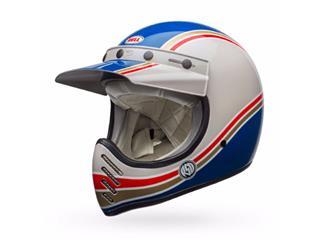 BELL Moto-3 Helmet RSD Malibu Blue/White Size XS