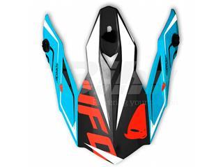 Recambio Visera casco UFO Onyx Speeder negro azul rojo HR115