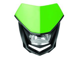 Plaque phare POLISPORT Halo vert/noir - PS025GR02
