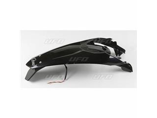 UFO Rear Fender + License Plate Holder /w Light Black KTM