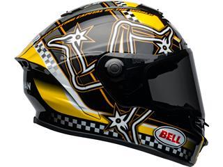 Casco Bell Star DLX ISLE OF MAN 2020 Negro/Amarillo, Talla S