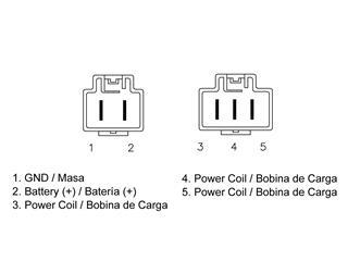 Régulateur TECNIUM type origine Honda - 4fe35401-f5cf-49ac-b4ef-35ce6bdd3c25