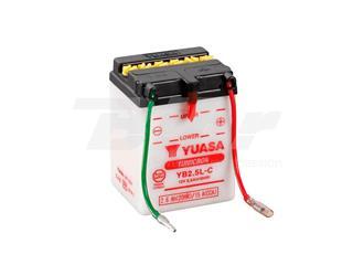 Batería Yuasa YB2.5L-C Dry charged (sin electrolito)