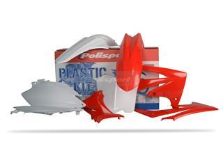 Kit plastique POLISPORT couleur origine (11-12) Honda CRF250F/CRF450F - PS211ST09