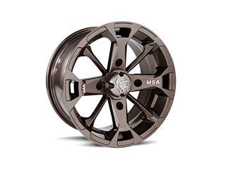Jante utilitaire MSA WHEELS M17 Elixir aluminium bronze 12x7 4x156 4+3