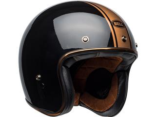 Casque BELL Custom 500 DLX Rally Gloss Black/Bronze taille M - 5072aac9-f622-43e0-8a8f-544a871f48af