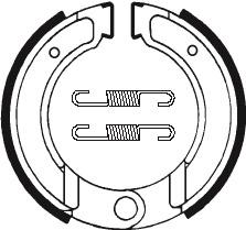 Machoires de frein TECNIUM BA120 organique - 391200