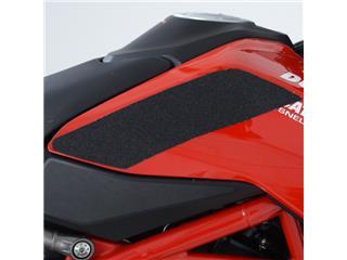 R&G RACING Tank Traction Pads Set 2 Pieces Black Ducati Hypermotard 950 - 60100025