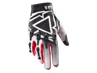 LEATT GPX 4.5 Lite handschoenen zwart-wit Maat S (EU7 - US8)