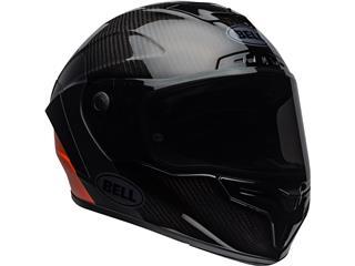 BELL Race Star Flex DLX Helmet Carbon Lux Matte/Gloss Black/Orange Size XXL - 50a42a3a-3e75-43a7-96a1-c7cd74ad5aa3