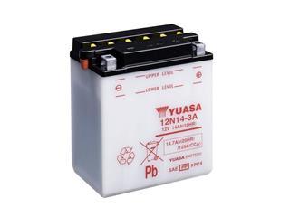 Batterie YUASA 12N14-3A conventionnelle