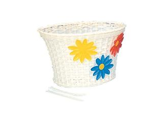 "FRONT BASKET CAVO NYLON 12-20"" WHITE"