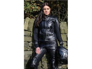 Pantalon RST Ladies Kate cuir noir taille S femme - 51821c65-d18a-4a64-bee7-c94a9f5f0127