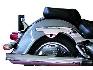 Kit de fixation sacoches cavalières KLICBAG chrome Suzuki