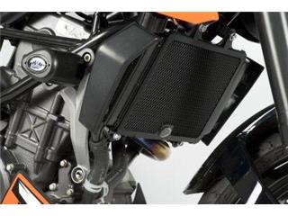Protection de radiateur R&G RACING noir KTM Duke 125/200
