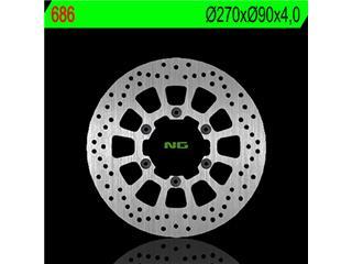 Disque de frein NG 686 rond fixe - 350686