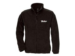 zip up BIHR black XXL size fleece jacket