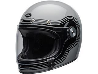 BELL Bullitt DLX Helmet Flow Gloss Gray/Black Size XS