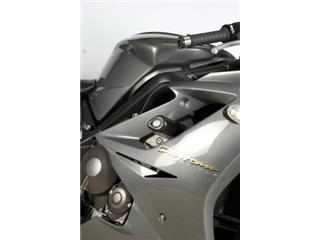 R&G RACING Aero Crash Pads Black Triumph Daytona 675/R