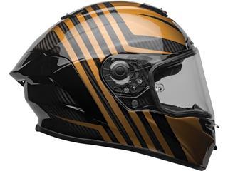 BELL Race Star Flex DLX Helmet Mate/Gloss Black/Gold Size L - 5266ec72-c2df-4baa-9315-1920fdadd38e