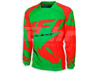 Camiseta UFO Made in Italy Sequence Verde/Rojo Talla L MG04422AL