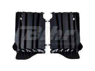 Aletines de radiador Polisport Honda negro 8457400001 - 48583