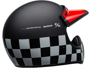 BELL Moto-3 Helmet Fasthouse Checkers Matte/Gloss Black/White/Red Size XS - 529a8ea0-9c83-46f9-9c9c-aae69f9ab2a5