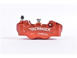 Etrier de frein radial gauche BERINGER Aerotec® 4 pistons Ø32mm entraxe 108mm rouge