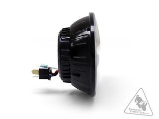 DENALI M5 LED Headlight Ø145mm Black Chrome - 52d5dea6-214a-48d5-81f6-567673b5f7f7