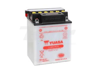 Batería Yuasa YB14A-A1 Dry charged (sin electrolito)