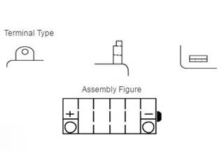 Batterie YUASA YB9-B conventionnelle - 5302e38d-f7b3-4cb6-b533-c3289d0de77b